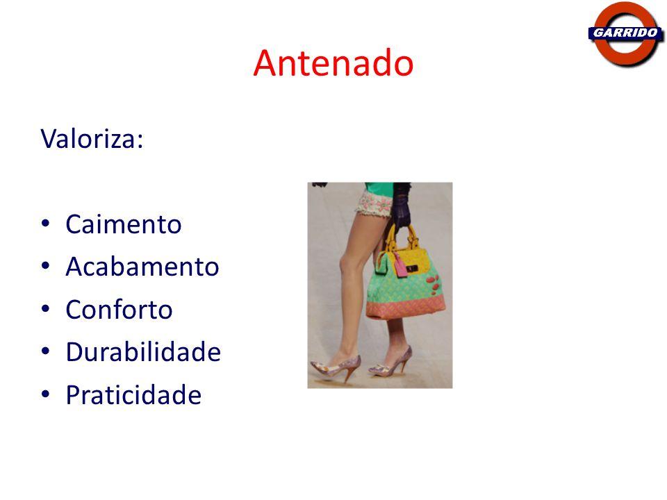 Antenado Bem informada sobre Moda – revistas, blogs, eventos As pessoas de outros perfis acabam seguindo seu estilo próprio