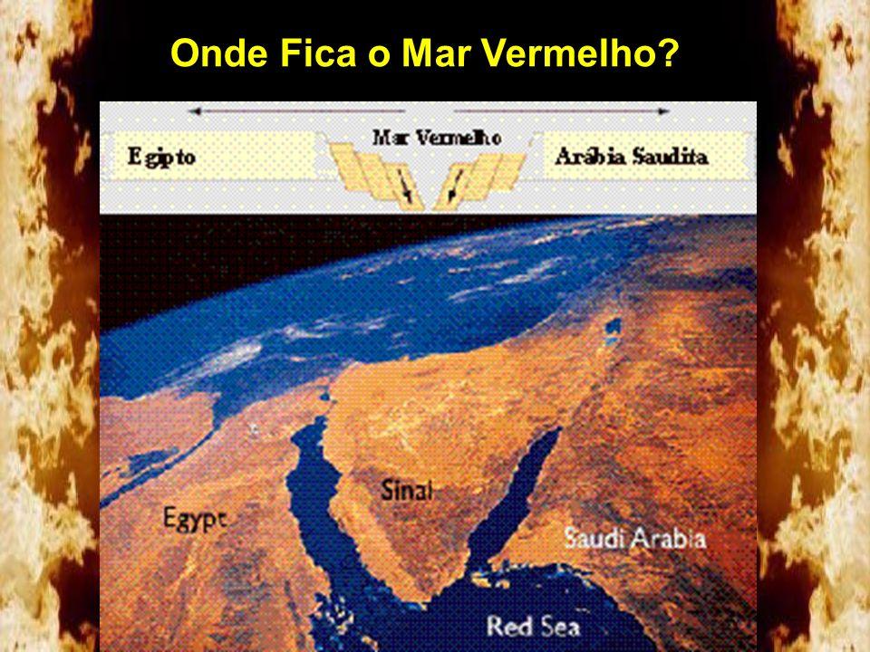 Mas, o que diz a s Escrituras? Ora, esta Agar é o Monte Sinai na ARÁBIA... Gálatas 4:25 Depois de 3 dias chegaram a um local chamado Mara onde as água