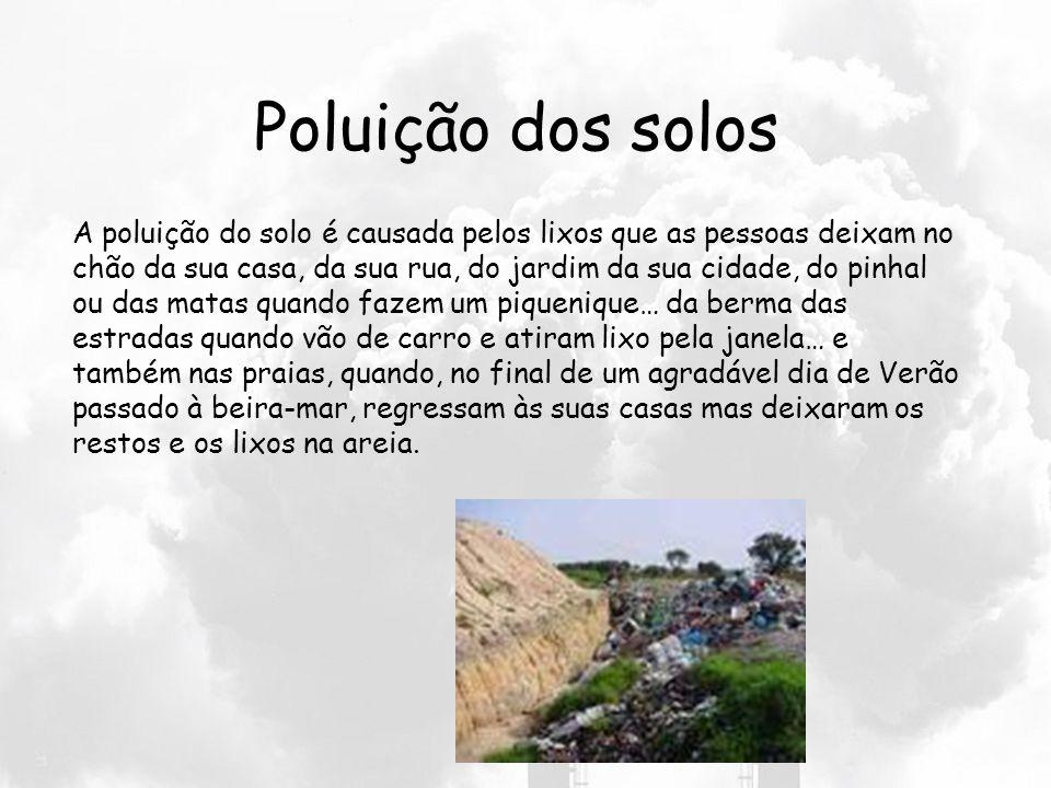 O que é a Poluição? Poluição significa sujidade, degradação, contaminação, doença. A acção do homem sobre o meio ambiente quase sempre tem efeitos neg