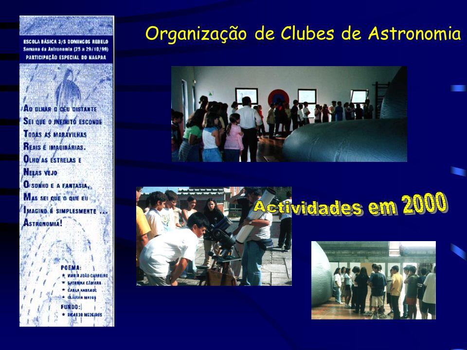 Organização de Clubes de Astronomia