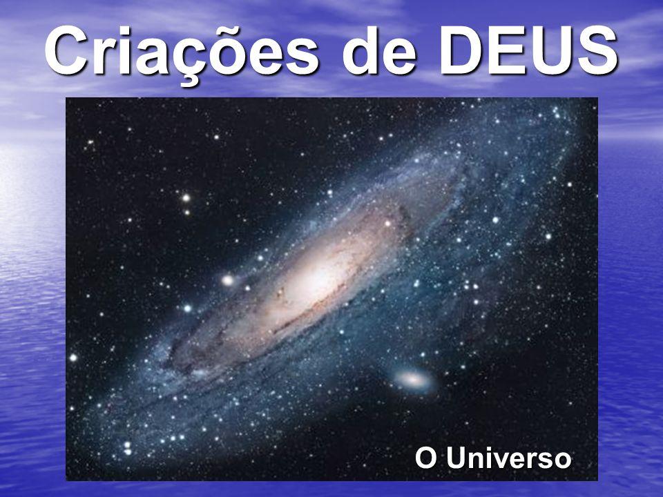 Criações de DEUS O Universo