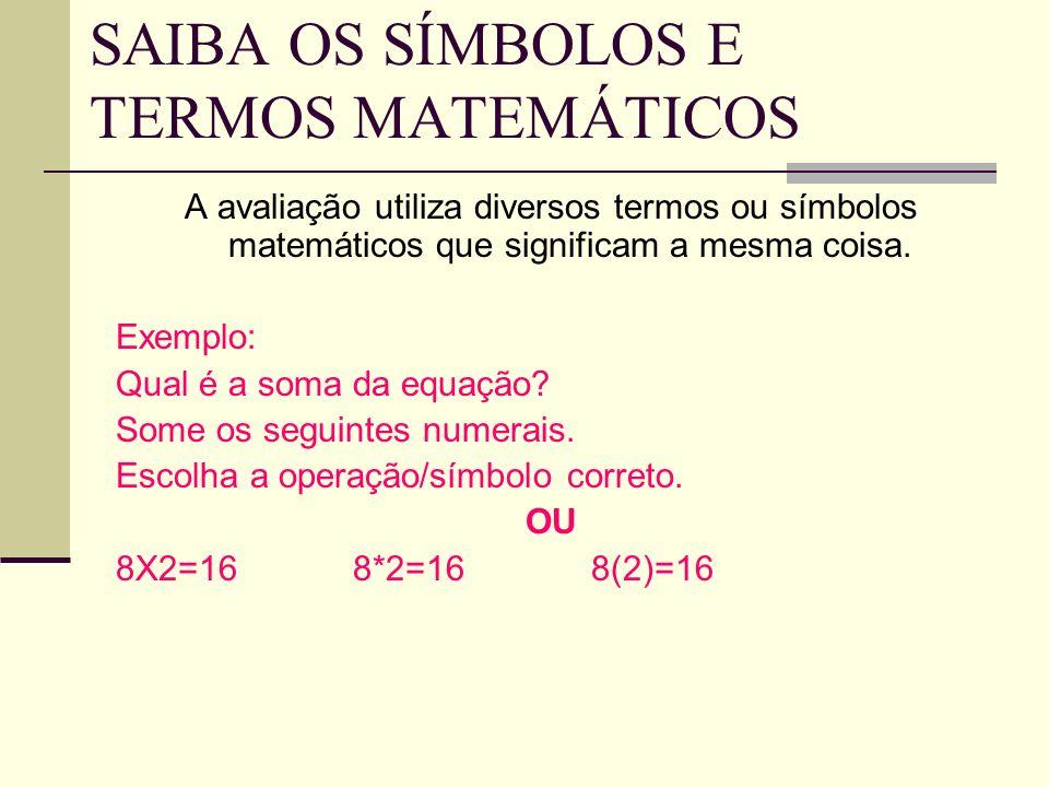 TENTE TODAS AS RESPOSTAS UTILIZE TODAS AS RESPOSTAS PARA ACHAR A RESPOSTA CORRETA Exemplo: 20____2=18 a. > 20 >2=10 b. / 20/2=10 c. + 20+2=22 d. - 20-