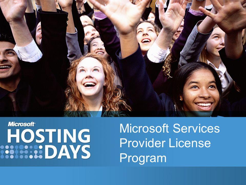 Microsoft Services Provider License Program