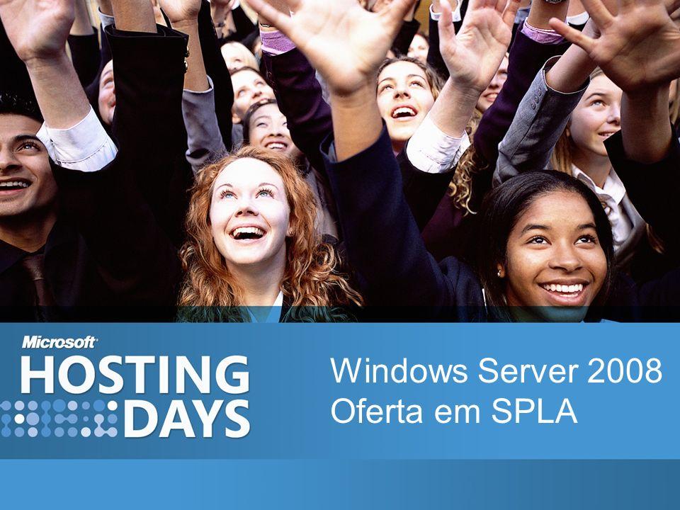 Windows Server 2008 Oferta em SPLA