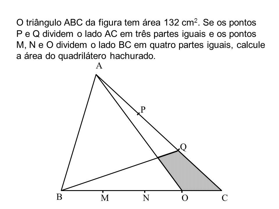 BA C D E F No trapézio ABCD, CD= 10 cm, AE=ED e CF=2BF.