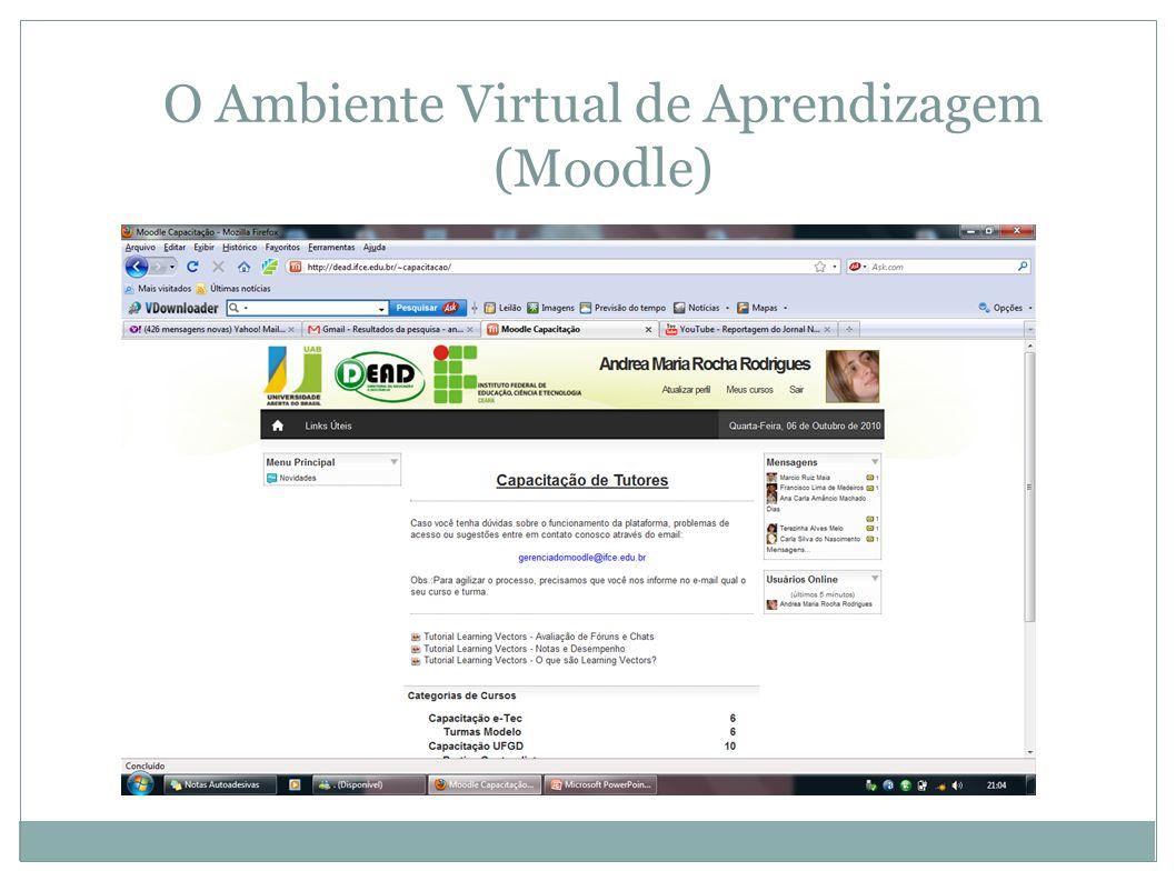O Ambiente Virtual de Aprendizagem (Moodle)