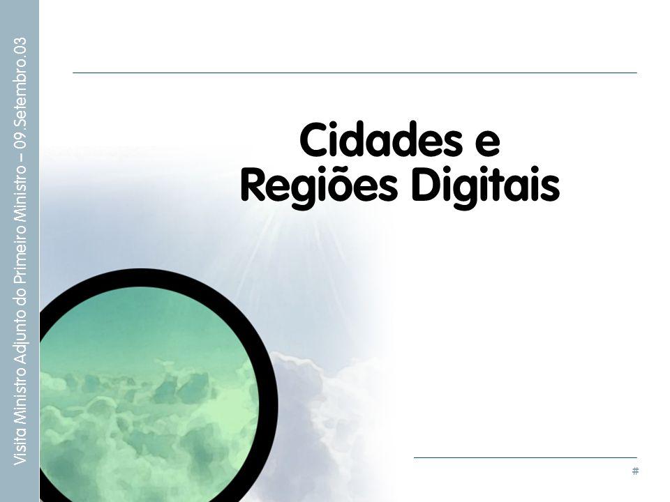 # Cidades e Regiões Digitais