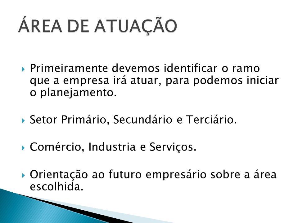 Primeiro setor da economia.