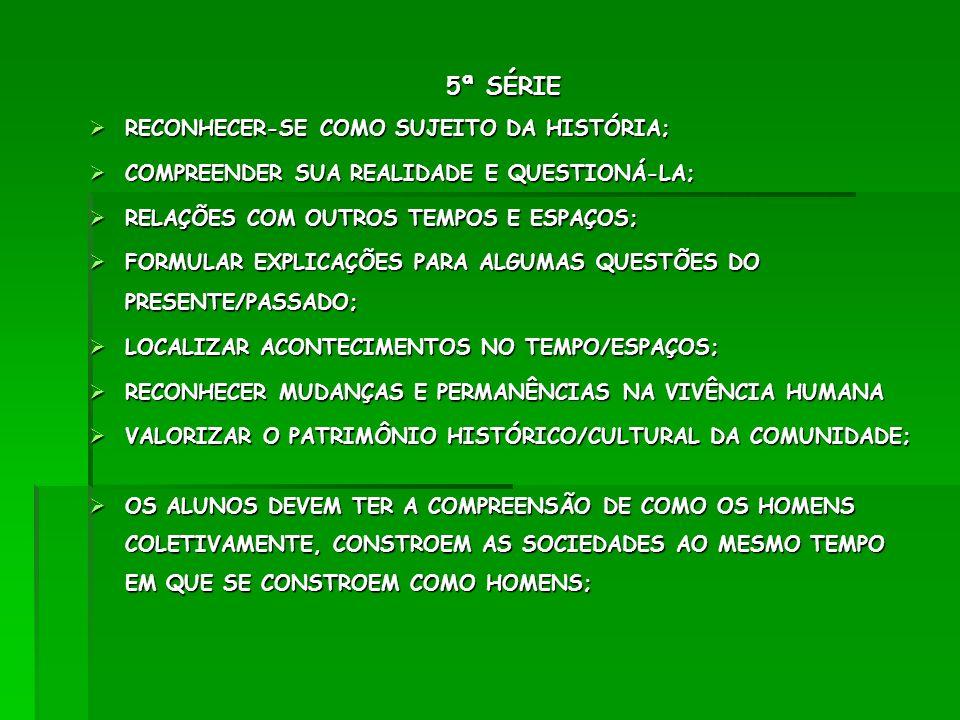 GEOGRAFIA 4ª SÉRIE A COMPREENDER A INCLUSÃO DOS ESPAÇOS; COMPREENDER A INCLUSÃO DOS ESPAÇOS; RECONHECER NO MAPA DO BRASIL: ESTADOS, LITORAL, CAPITAIS, PLANALTOS RECONHECER NO MAPA DO BRASIL: ESTADOS, LITORAL, CAPITAIS, PLANALTOS RECONHECER TIPOS DE TRANSPORTE, SUA IMPORTÂNCIA, BENEFÍCIOS E OS PROBLEMAS COM A POLUIÇÃO SONORA E DO AR; RECONHECER TIPOS DE TRANSPORTE, SUA IMPORTÂNCIA, BENEFÍCIOS E OS PROBLEMAS COM A POLUIÇÃO SONORA E DO AR; RECONHECER LEIS DO TRÂNSITO; RECONHECER LEIS DO TRÂNSITO; CONHECER SISTEMA SOLAR CONHECER SISTEMA SOLAR 4ª SÉRIE B 4ª SÉRIE B LOCALIZAR-SE NO ESPAÇO EM QUE VIVE.