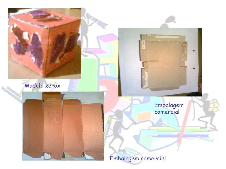 Modelo xerox Embalagem comercial