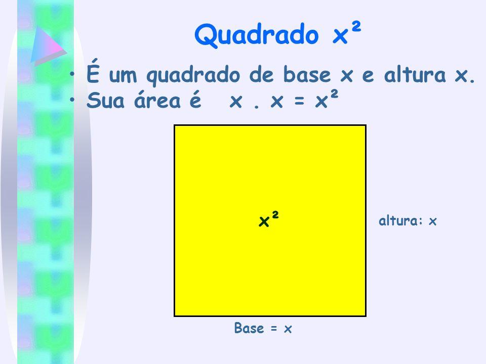 Qual a base e altura de um retângulo de área 4xy.