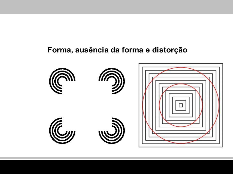 Forma, ausência da forma e distorção