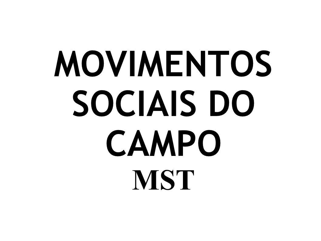 Tipos de Movimentos Sociais: Os movimentos sociais diferem quanto à abrangência da mudança pretendida.