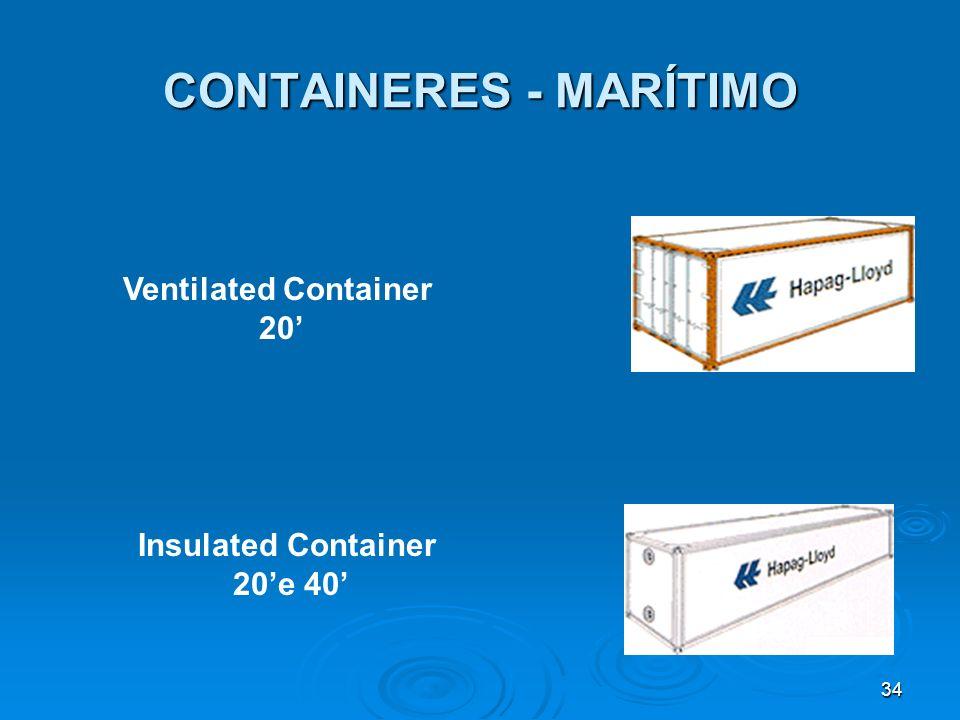 33 CONTAINERES - MARÍTIMO Flatrack 20e 40 Platform 20e 40