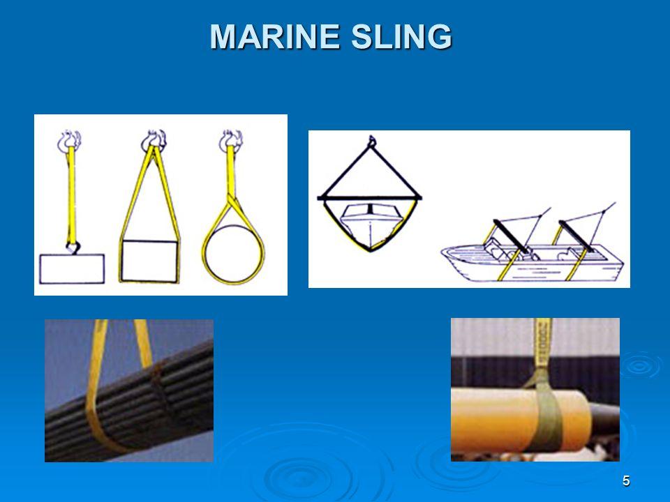 5 MARINE SLING