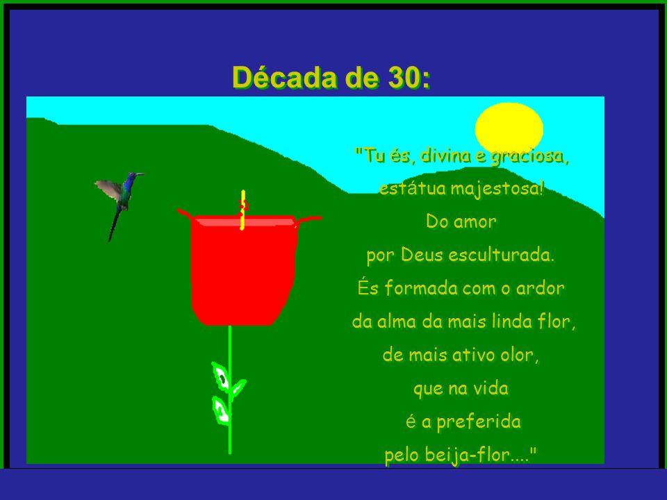 trajano@nicnet.com.br Década de 30: Ele, de terno cinza e chapéu panamá, em frente à vila onde ela mora, canta: Ele, de terno cinza e chapéu panamá, e