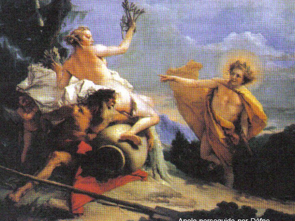 14 Apolo perseguido por Dáfne