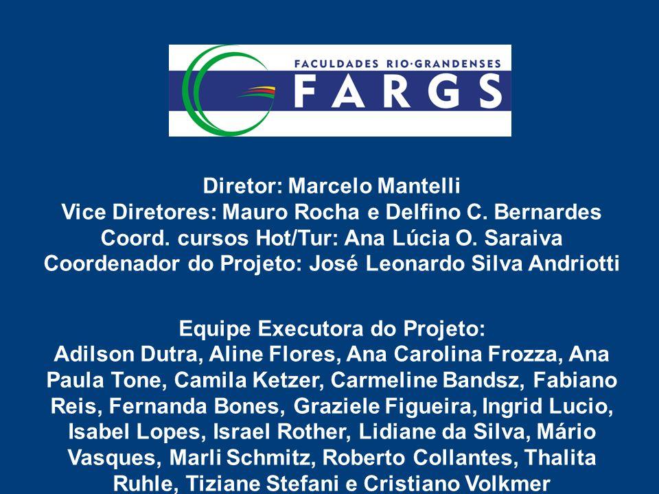 Diretor: Marcelo Mantelli Vice Diretores: Mauro Rocha e Delfino C.
