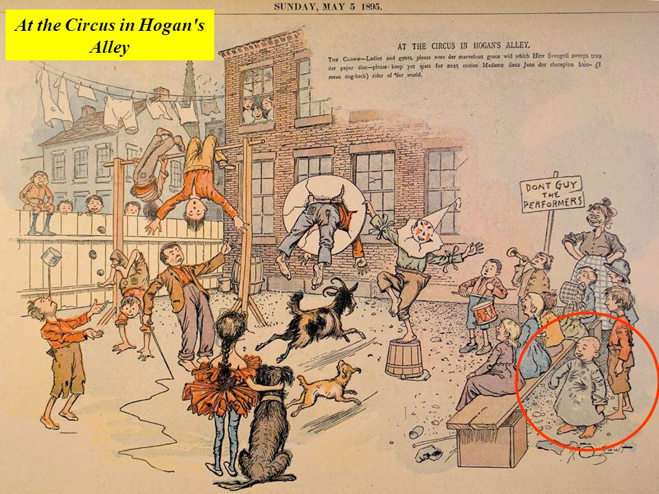 At the Circus in Hogan's Alley