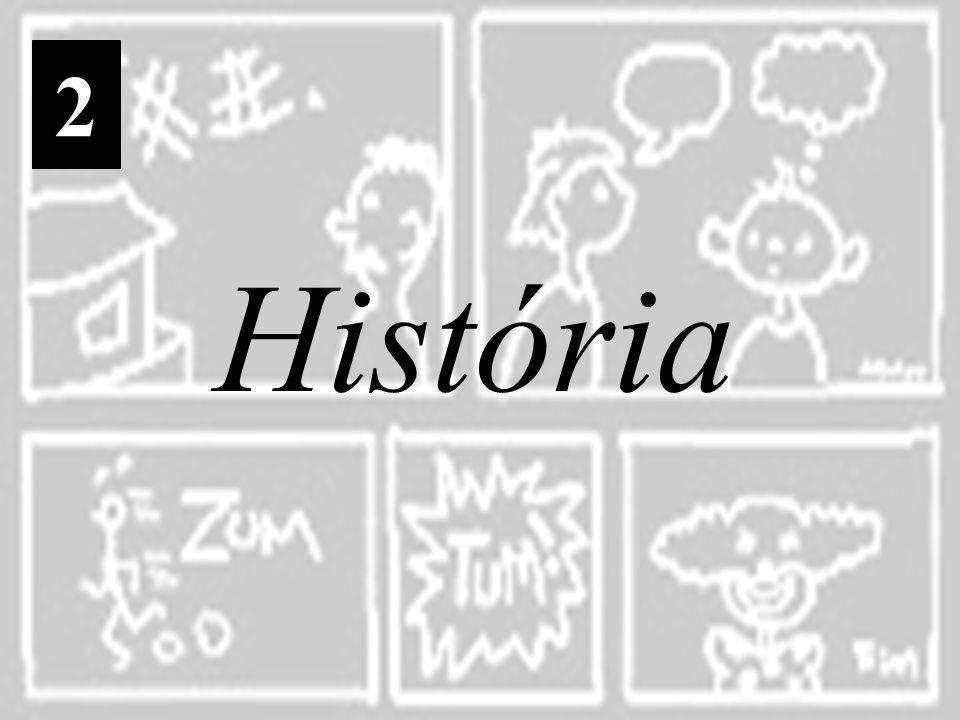 Na primeira metade do século XVIII, o ilustrador inglês William Hogarth criou uma forma de pintura narrativa cômica que pode ser considerada o antepassado remoto das histórias em quadrinhos Entretanto, o precursor das histórias em quadrinhos, em seu sentido moderno, foi o suíço Rodolphe Töpffer, autor de diversos álbuns cômicos que reuniam, já na primeira metade do século XIX, várias características dos quadrinhos atuais.