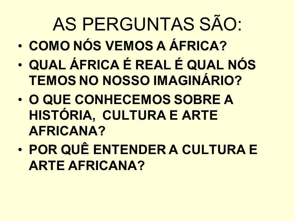 O argumento principal para o ensino da História,Cultura e Arte Africana está no fato da impossibilidade de uma boa compreensão da história e da arte brasileira sem o conhecimento das histórias dos atores africanos, indígenas e europeus.
