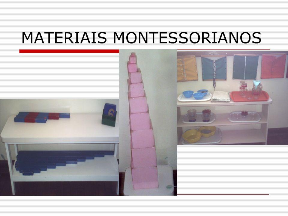 MATERIAIS MONTESSORIANOS