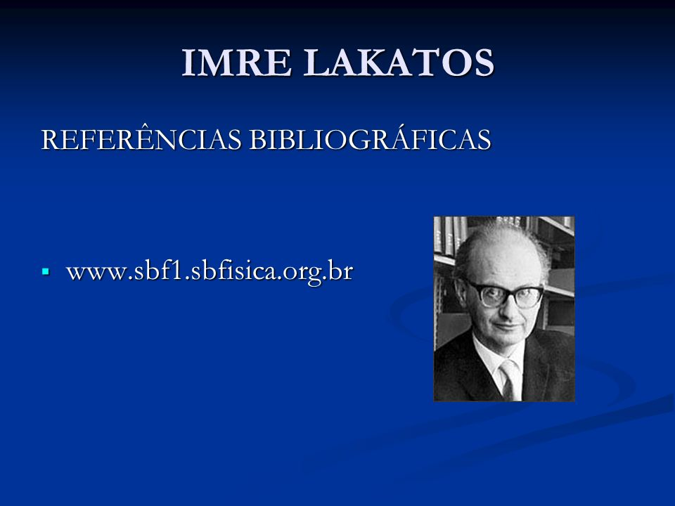 REFERÊNCIAS BIBLIOGRÁFICAS www.sbf1.sbfisica.org.br www.sbf1.sbfisica.org.br