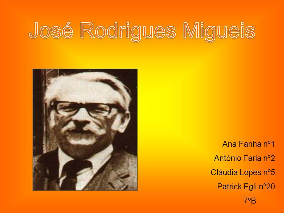 Ana Fanha nº1 António Faria nº2 Cláudia Lopes nº5 Patrick Egli nº20 7ºB