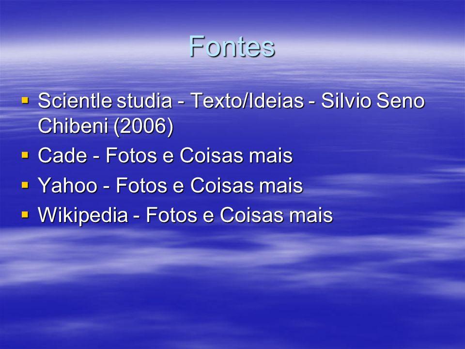 Fontes Scientle studia - Texto/Ideias - Silvio Seno Chibeni (2006) Scientle studia - Texto/Ideias - Silvio Seno Chibeni (2006) Cade - Fotos e Coisas m