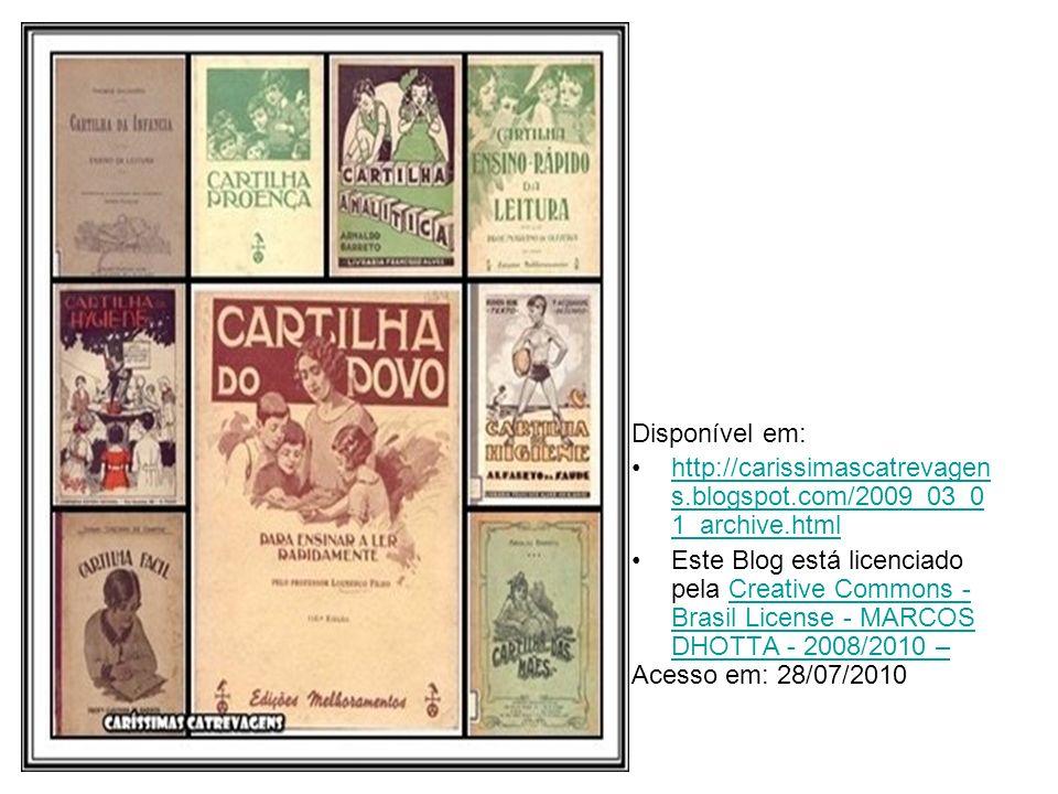 Disponível em: http://www.velhostemposbelos dias.com/page/3/ Acesso em: 28/07/2010http://www.velhostemposbelos dias.com/page/3/