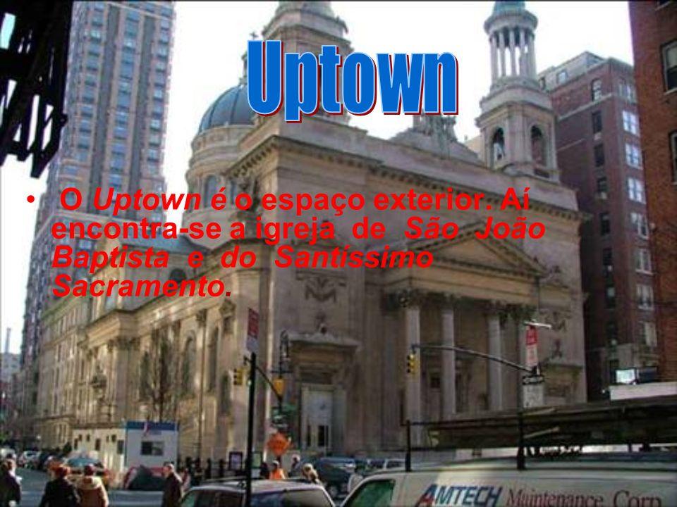 O Uptown é o espaço exterior.