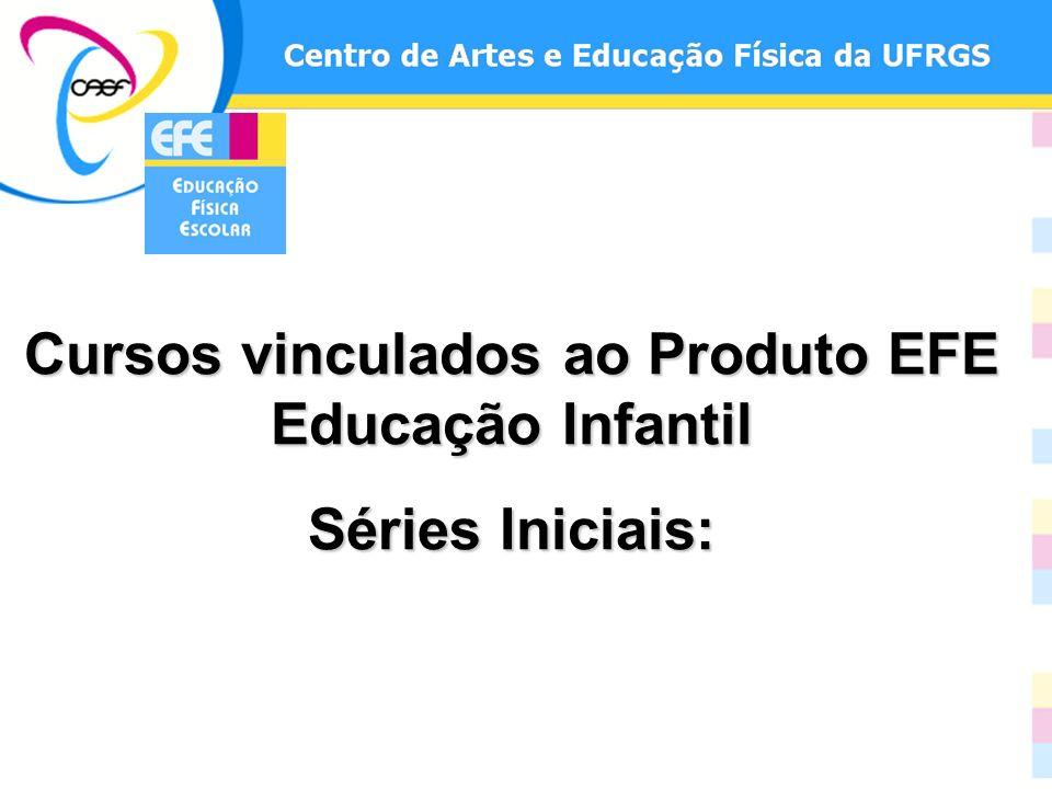 Cursos vinculados ao Produto EFE Educação Infantil Séries Iniciais: