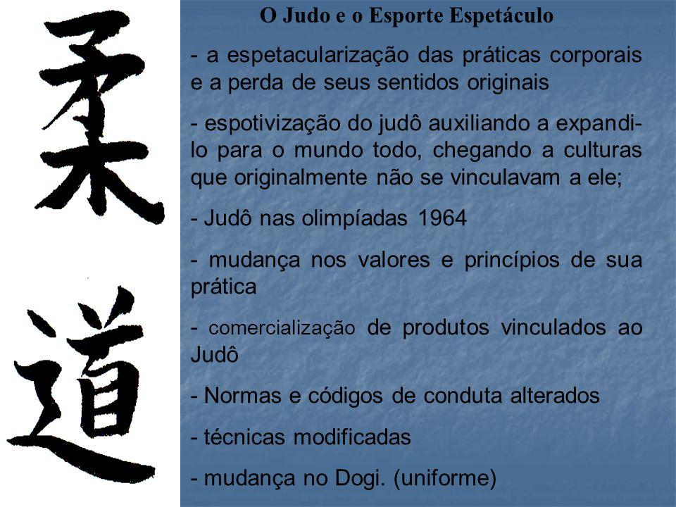 DOJO -Local de iluminação -inicialmente feito de palha de arroz - Judô esporte: pontuação definida pela técnica que resulta na queda do adversário.