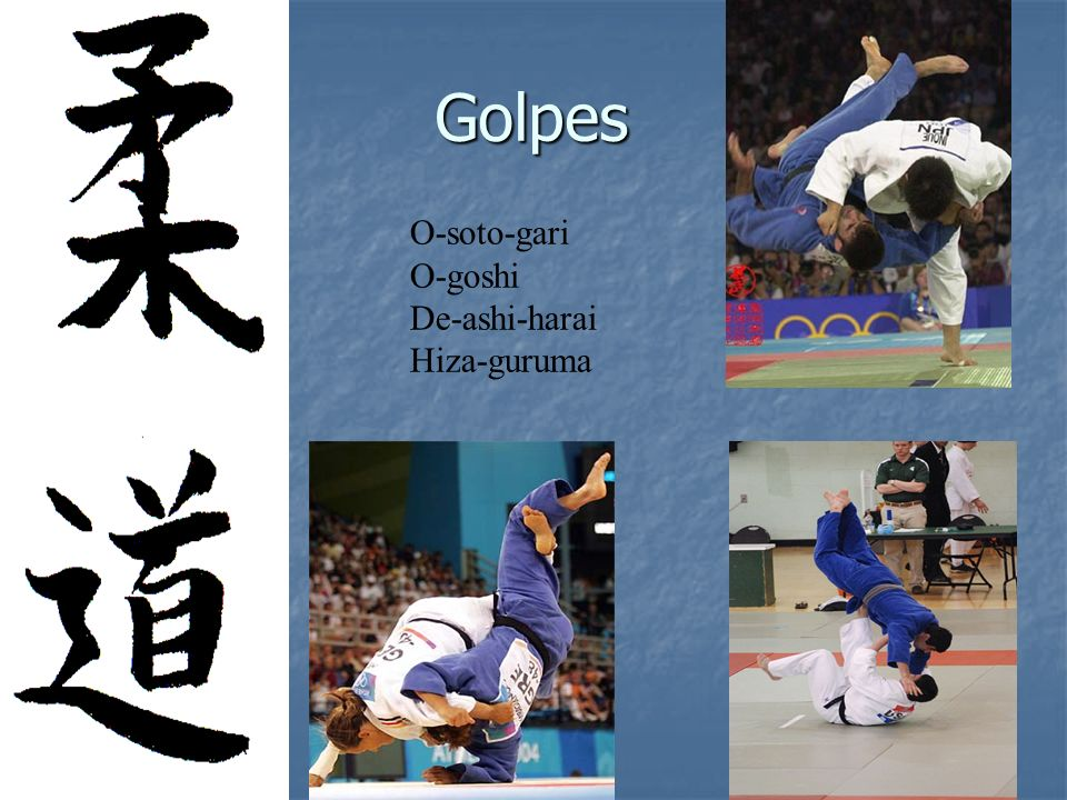 Vamos vivenciar algumas técnicas do Judo.