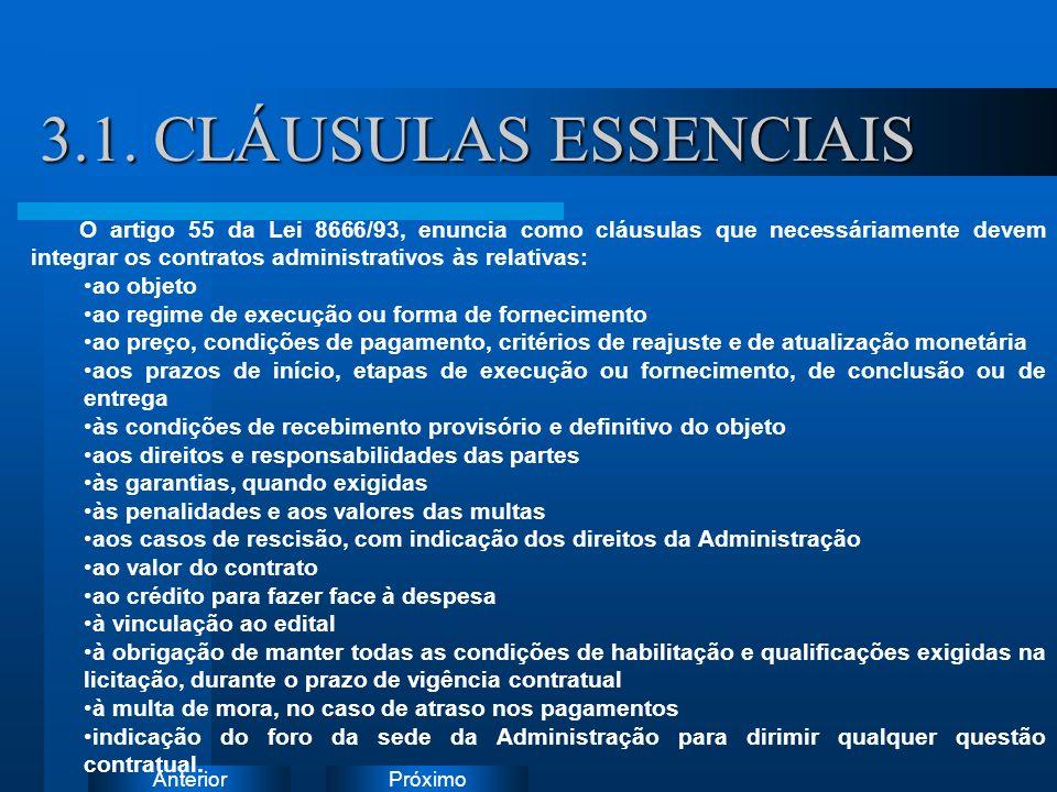 PróximoAnterior 3.1. CLÁUSULAS ESSENCIAIS Instruções: Exclua o ícone do documento de exemplo e substitua-o pelos do documento de trabalho: Crie um doc