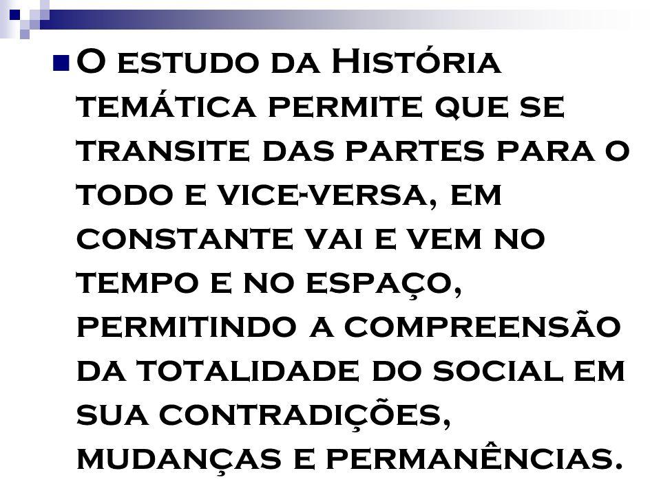 CONTEÚDOS - CONTEÚDOS - ENSINO FUNDAMENTAL ênfase na História do Brasil, tem como referenciais para 5ª série, o recorte/tema: OS DIFRENTES SUJEITOS SUAS CULTURAS SUAS HISTÓRIAS para 6ª série, o recorte/tema: A CONSTITUIÇÃO HISTÓRICA DO MUNDO RURAL E URBANO E A FORMAÇÃO DA PROPRIEDADE EM DIFERENTES TEMPOS E ESPAÇOS