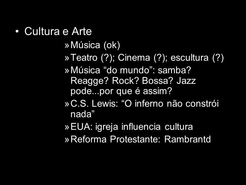 Cultura e Arte »Música (ok) »Teatro (?); Cinema (?); escultura (?) »Música do mundo: samba? Reagge? Rock? Bossa? Jazz pode...por que é assim? »C.S. Le