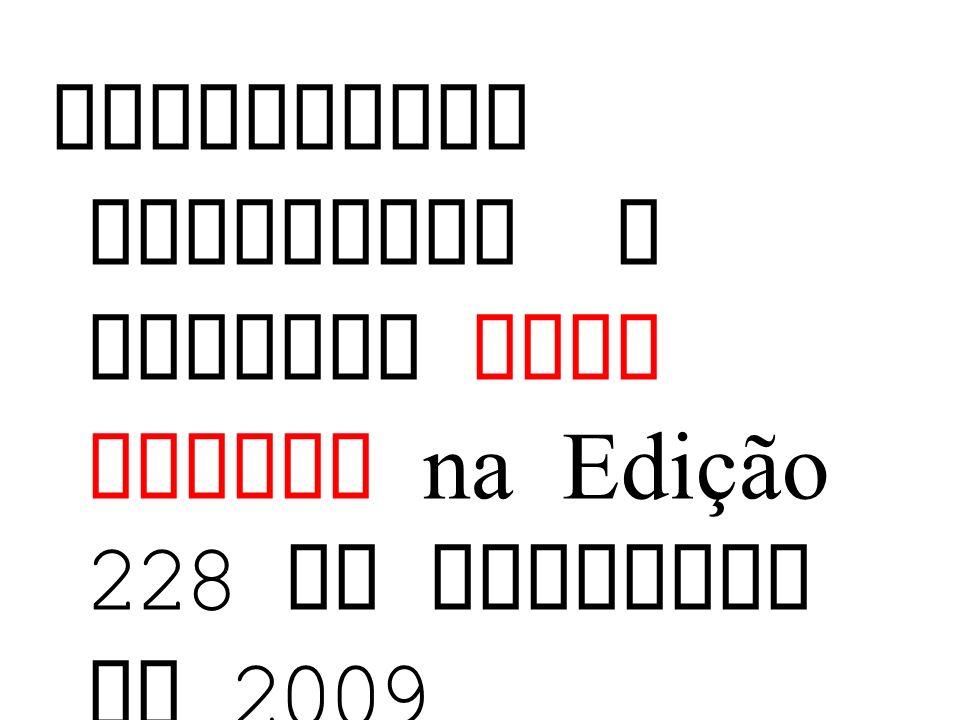 Entrevista concedida a revista Nova Escola na Edição 228 de Dezembro de 2009