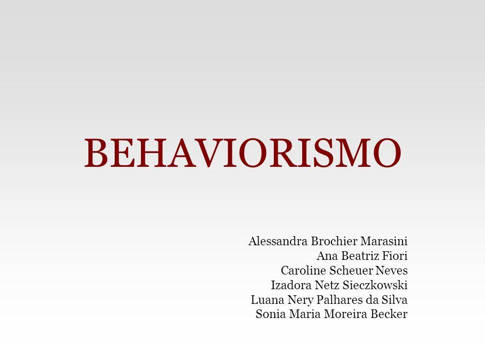 Behaviorismo – Surgimento John B.