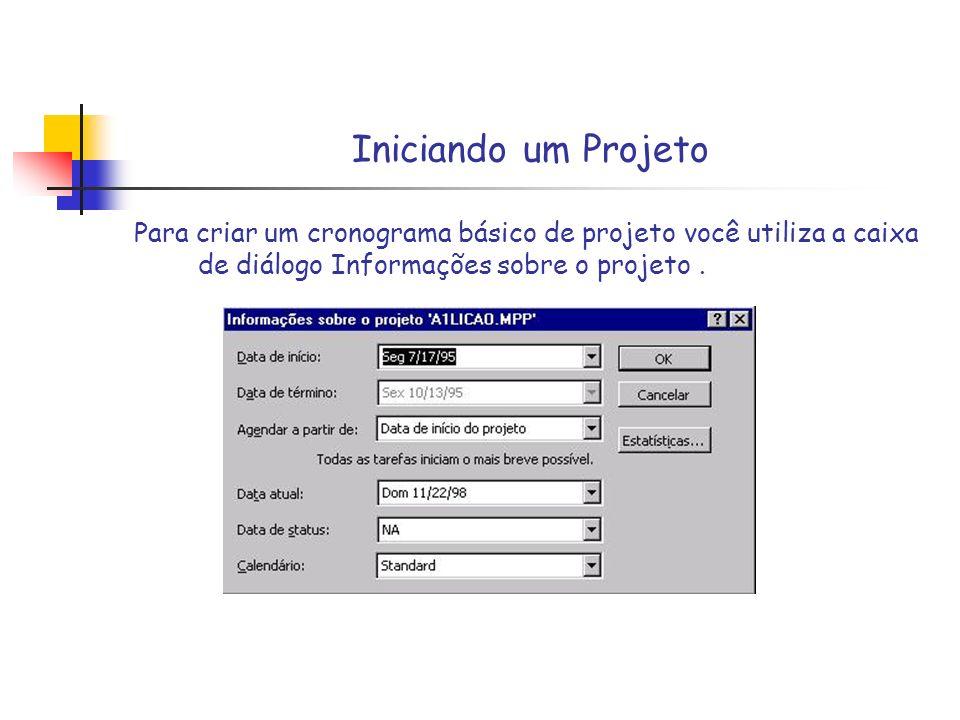 Elaborar WBS detalhada do Projeto Identificação de cada atividade, tarefa com um I.D.