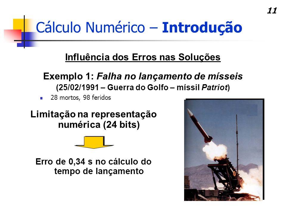 10 Fluxograma – Solução Numérica PROBLEMA MODELO MATEMÁTICO SOLUÇÃO modelagemresolução PROBLEMA ESCOLHA DO MÉTODO NUMÉRICO IMPLEMENTAÇÃO COMPUTACIONAL