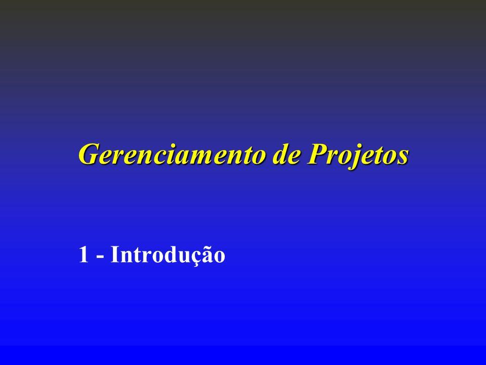 Gerenciamento de Projetos 1 - Introdução