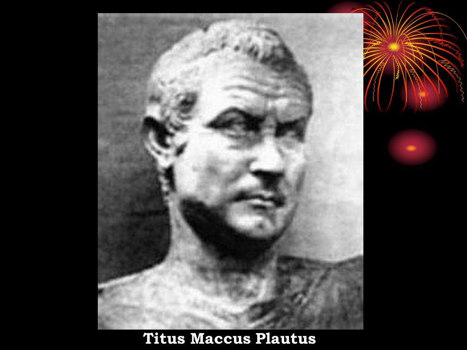 Assim, em Roma predomina a comédia.Durante o Império Romano (de 27 a.C.