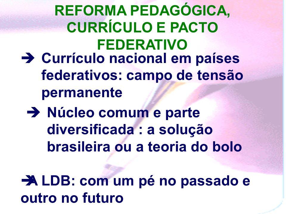 A LDB: REFORMA PEDAGÓGICA E AVALIAÇÃO Da liberdade de ensino ao direito de aprender Da obrigatoriedade ao direito de cidadania Educação Básica: trabal