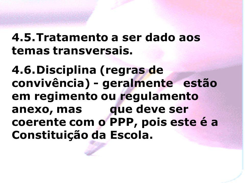4.4.Projetos Pedagógicos (atividades extra-curriculares e de integração interdisciplinar)