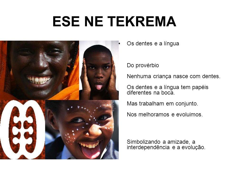 ESE NE TEKREMA Os dentes e a língua Do provérbio Nenhuma criança nasce com dentes.