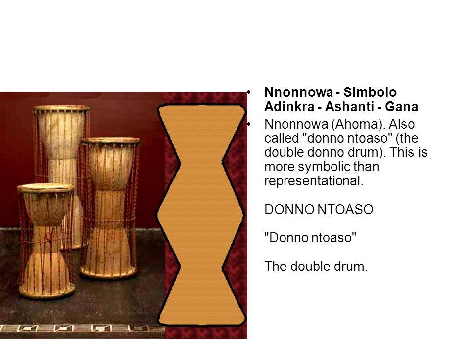 Nnonnowa - Simbolo Adinkra - Ashanti - Gana Nnonnowa (Ahoma).