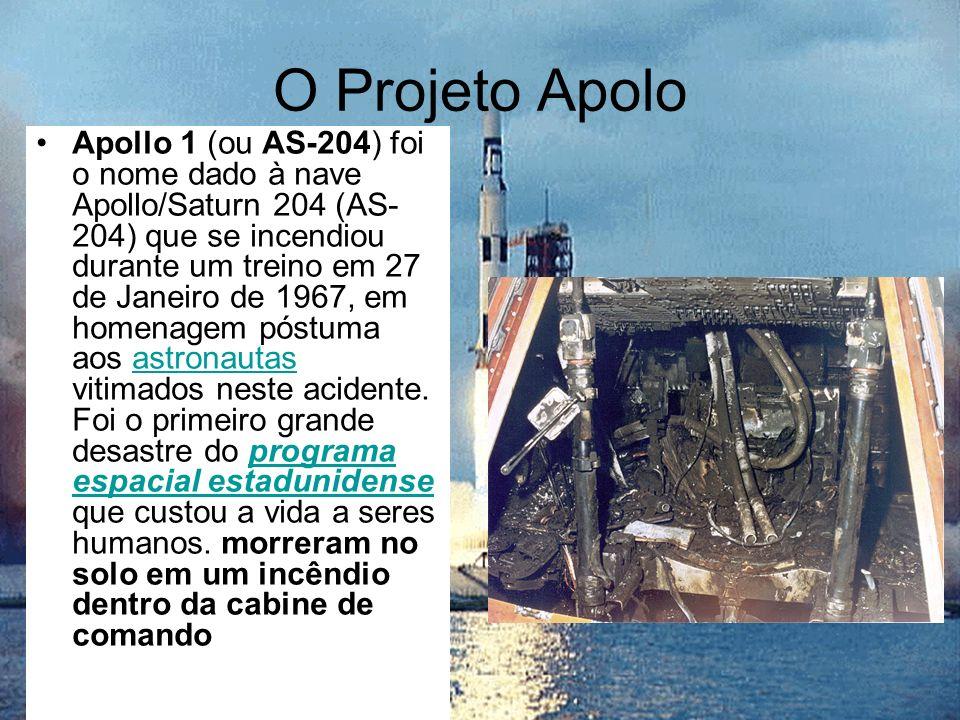 O Projeto Apolo Apollo 1 (ou AS-204) foi o nome dado à nave Apollo/Saturn 204 (AS- 204) que se incendiou durante um treino em 27 de Janeiro de 1967, e