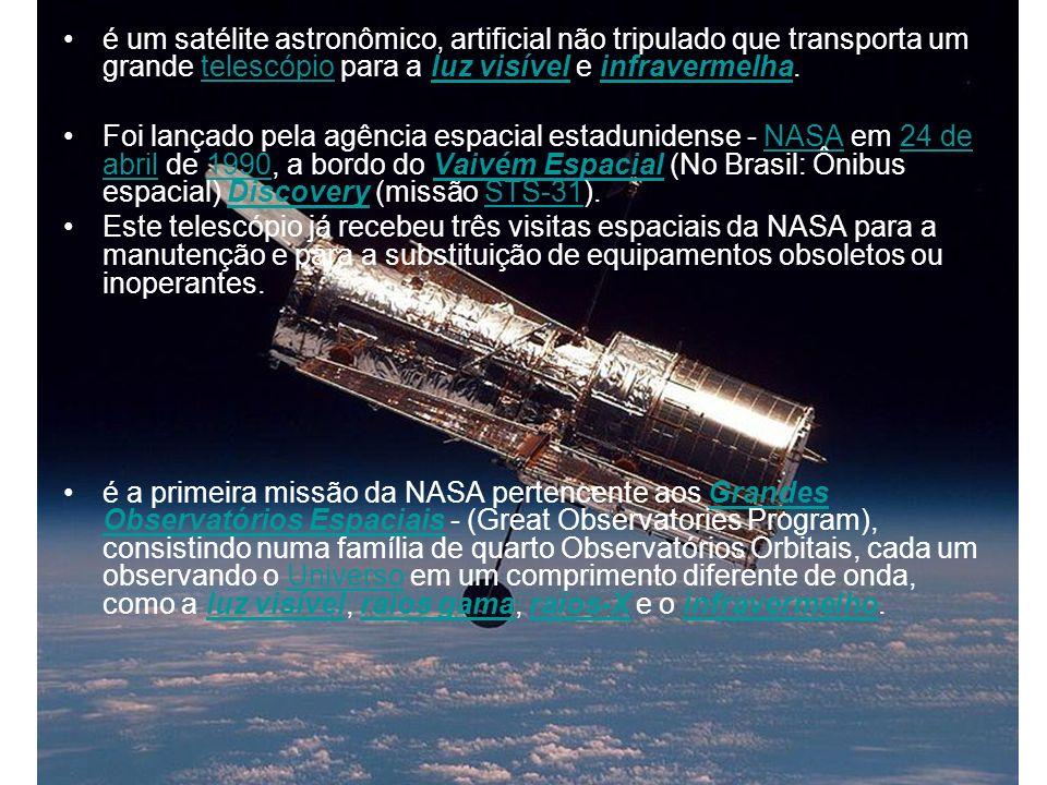 é um satélite astronômico, artificial não tripulado que transporta um grande telescópio para a luz visível e infravermelha.telescópioluz visívelinfrav