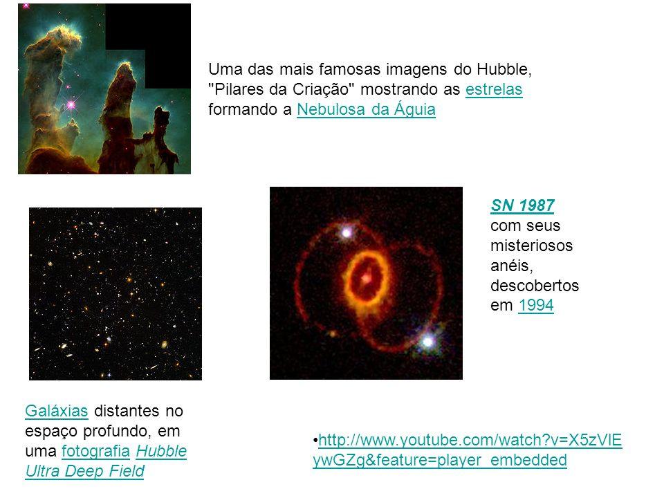 Uma das mais famosas imagens do Hubble,
